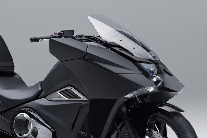 Honda представила два футуристических мотоцикла . Изображение № 2.