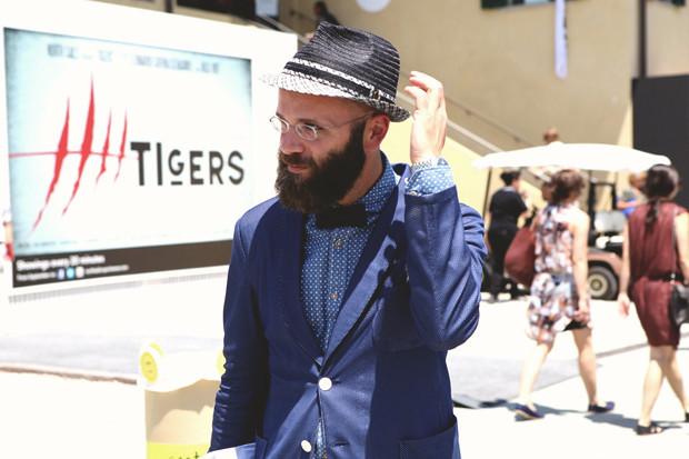Первый день Pitti Uomo: Прически, усы и бороды посетителей. Изображение № 10.