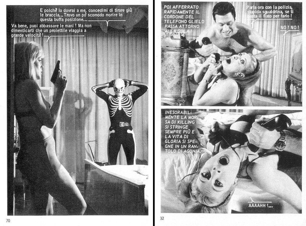 «Киллинг»: История самых знаменитых фотокомиксов 1960-х. Изображение № 5.
