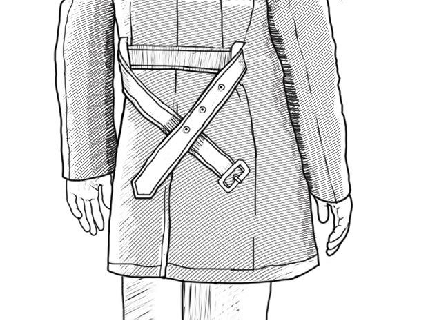 Совет: Как завязывать пояс на тренче. Изображение № 7.