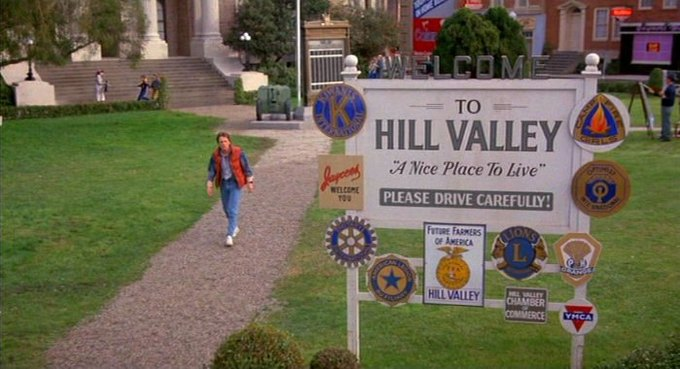 В Лос-Анджелесе построят город из фильма «Назад в будущее». Изображение № 1.