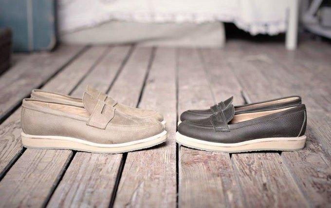 Новая марка: Мужские кожаные ботинки «Циркуль». Изображение № 4.