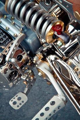 Мотоцикл немецкой мастерской Thunderbike победил в чемпионате мира по кастомайзингу. Изображение № 12.