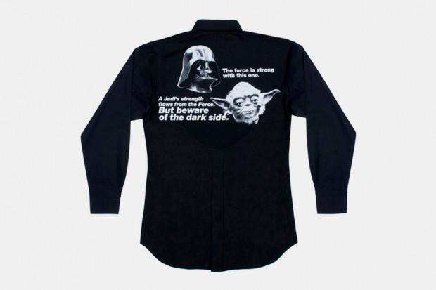 Марка Comme des Garcons Shirt выпустила коллекцию одежды по мотивам фильма «Звездные войны». Изображение № 3.