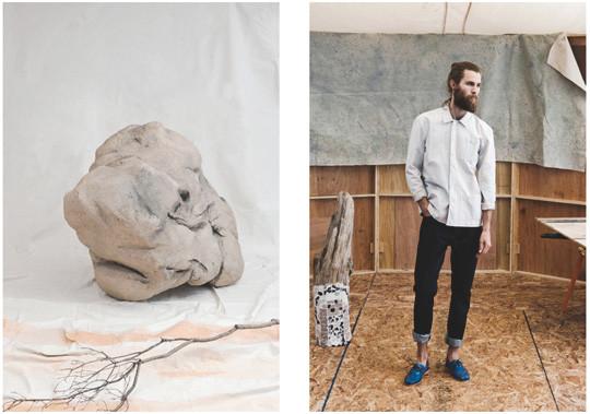 Французская марка Hixsept выпустила лукбук весенней коллекции одежды. Изображение № 3.