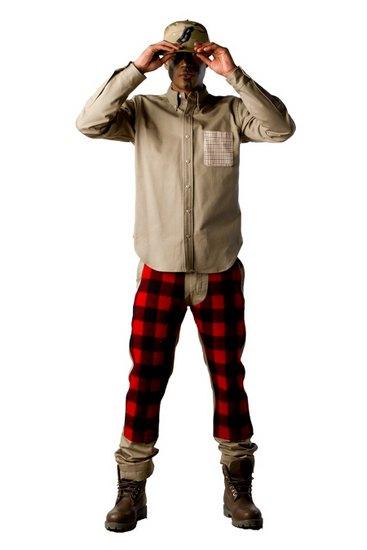 Марка Billionaire Boys Club опубликовала лукбук осенней коллекции одежды своей линейки Bee Line. Изображение № 13.
