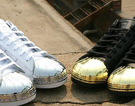 Adidas Originals выпустила кроссовки Superstar 80s с металлическими мысками. Изображение № 1.