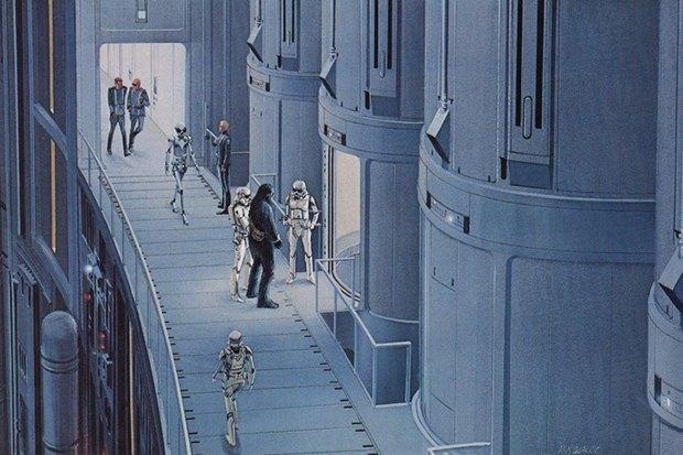 В сети появился оригинальный концепт-арт «Звёздных войн». Изображение № 3.