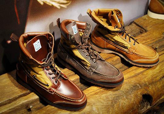Совместная коллекция обуви марок Sebago, Filson и Woolrich. Изображение № 4.