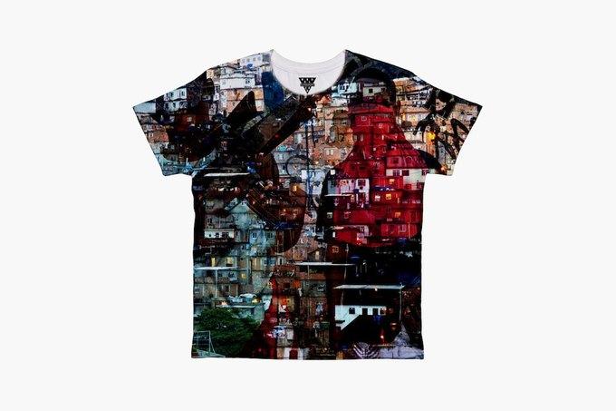 Марка Eleven Paris к чемпионату мира по футболу представила коллекцию футболок. Изображение № 3.