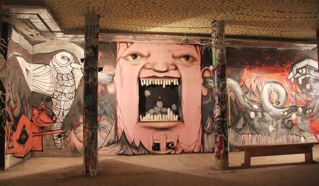 Скетчбук: Уличный художник Nomerz рассказывает о своих избранных работах. Изображение № 22.