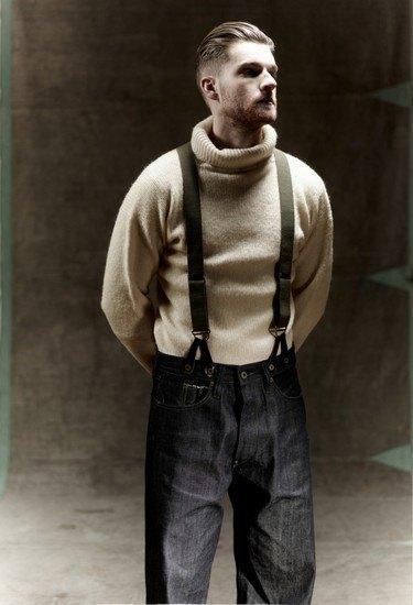 Марка Nigel Cabourn выпустила лукбук осенней коллекции одежды. Изображение № 12.
