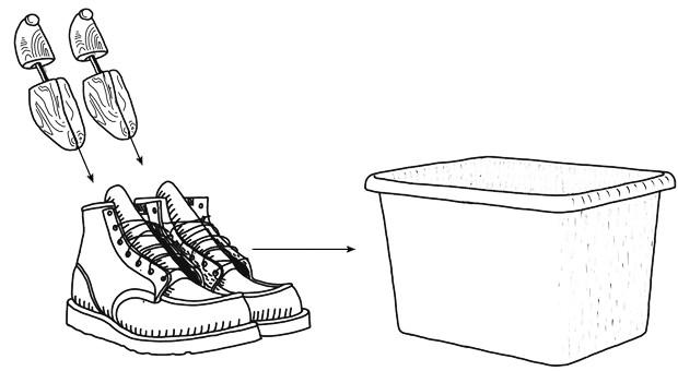 Совет: Как хранить зимнюю одежду и обувь. Изображение № 6.