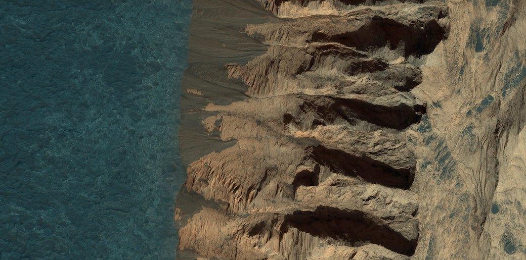 Новые фотографии поверхности Марса, опубликованные агентством NASA. Изображение № 5.