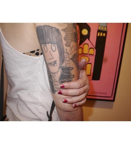 Художник Шепард Фейри открыл выставку рисунков басиста Ramones. Изображение № 7.