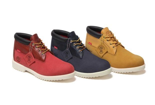 Марки Supreme и Timberland представили совместную коллекцию обуви. Изображение № 4.