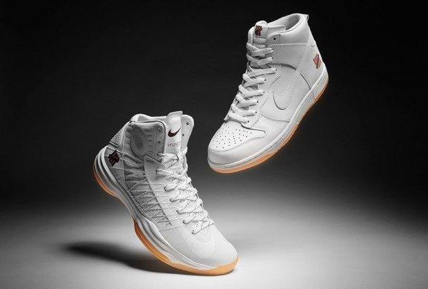 Марки Nike и Undefeated представили совместные модели кроссовок. Изображение № 1.