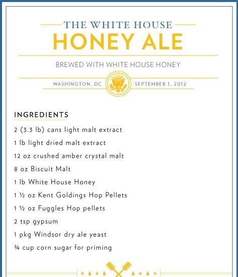 Барак Обама поделился секретом приготовления пива из Белого дома. Изображение № 1.