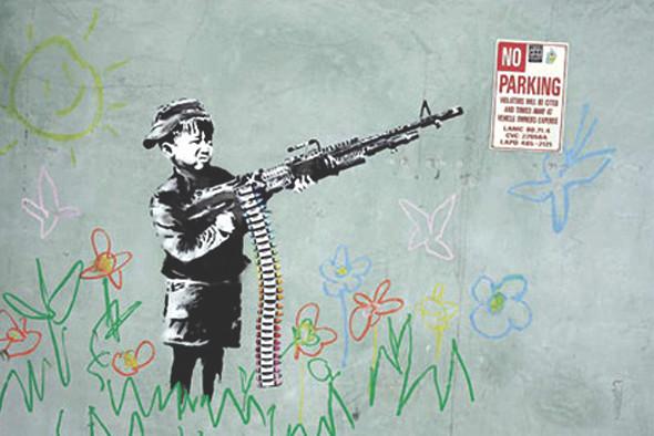 10 последних проектов уличного художника Бэнкси. Изображение № 4.
