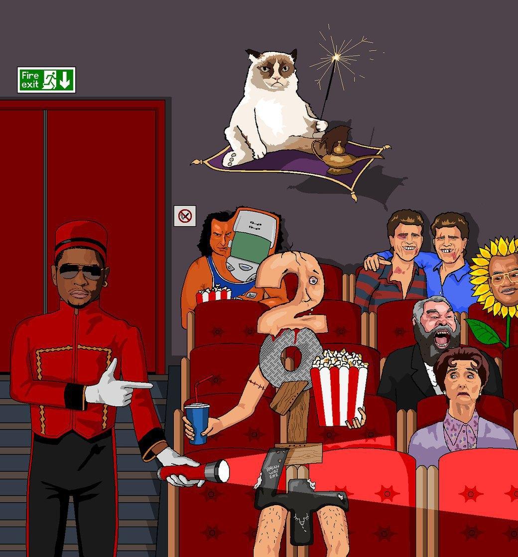 Jim'll Paint It: Бредовые рисунки на заказ в блоге британского художника. Изображение № 6.