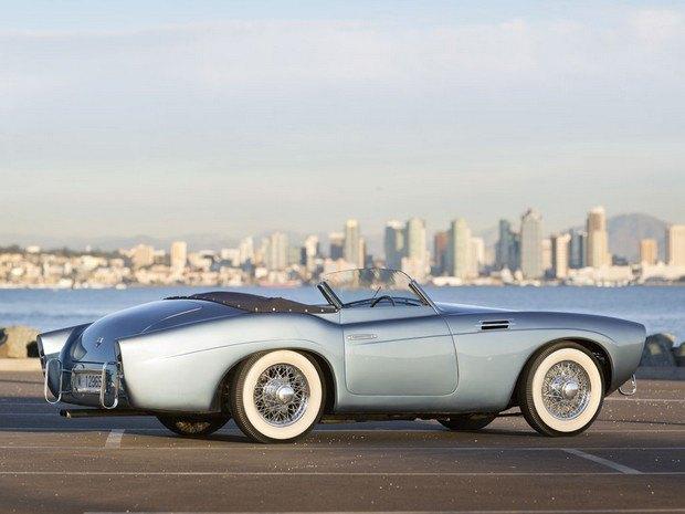 Редкий испанский спорткар Pegaso Z-102 1954 года выставлен на аукцион. Изображение № 2.