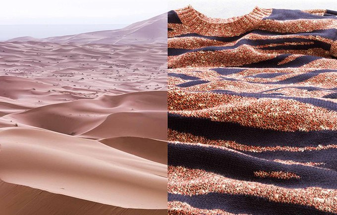 Совмещение природных ландшафтов и одежды в коллажах фотографа Джозефа Форда. Изображение № 8.