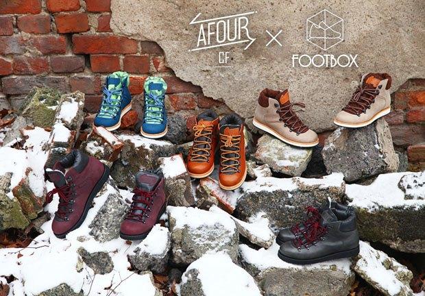 Магазин Footbox и марка Afour выпустили совместную коллекцию обуви. Изображение № 1.