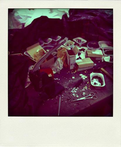 Фотографии с фабрики, где производятся вещи Grunge John Orchestra. Explosion. Изображение № 22.