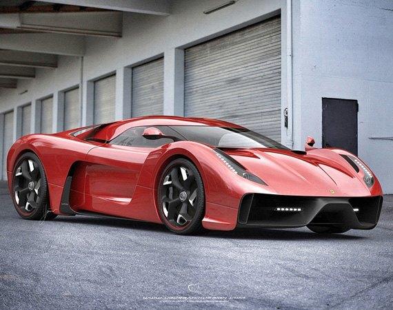Представлен новый концепт суперкара на базе Ferrari 458 Italia. Изображение № 9.