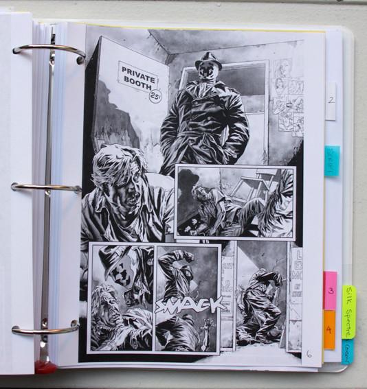 В сети появились иллюстрации приквела комикса «Хранители». Изображение № 10.
