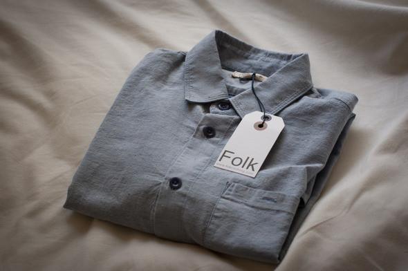 Изображение 1. Новая рубашка Folk.. Изображение № 1.