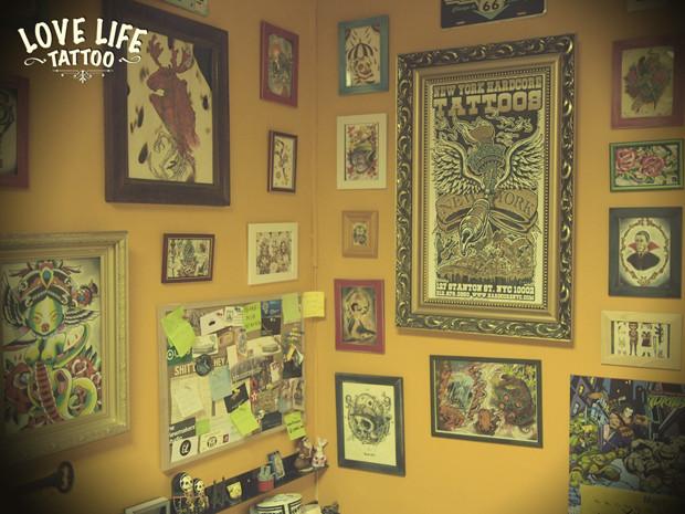Репортаж из нового помещения Love Life Tattoo. Изображение № 22.