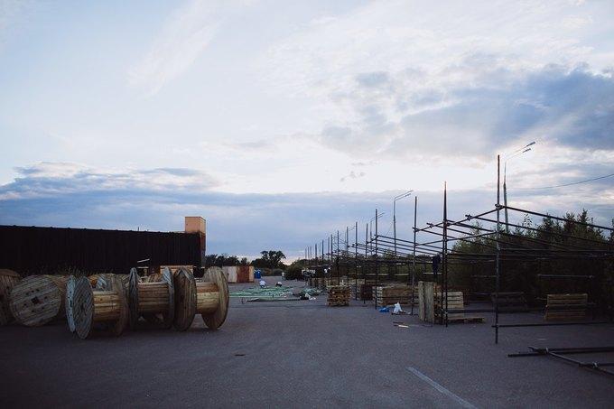 Фоторепортаж: Строительство объектов фестиваля Outline. Изображение № 57.