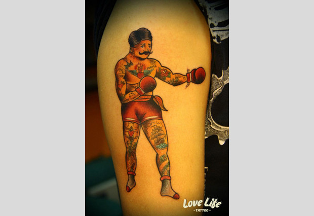 Избранные работы студии Love Life Tattoo. Изображение № 10.
