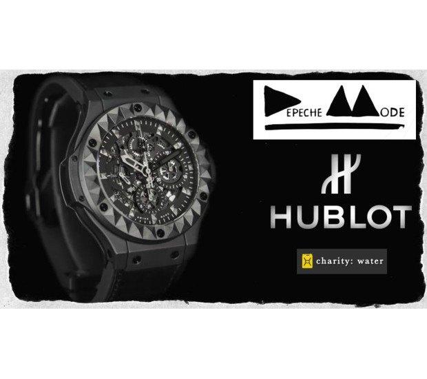 Марка Hublot и группа Depeche Mode представили совместную модель часов. Изображение № 4.