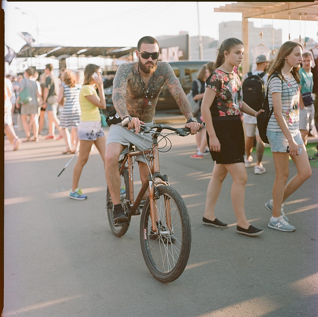 Фоторепортаж с фестиваля Faces & Laces в парке Горького. Изображение № 5.