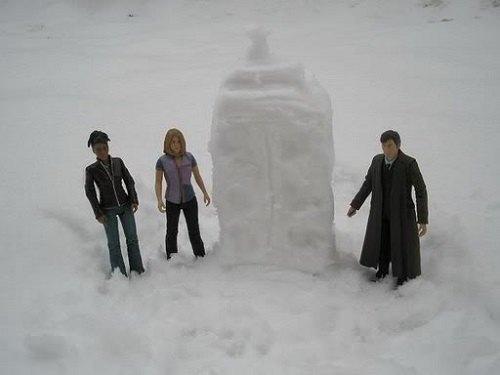 Что ты лепишь: Альтернативные снеговики со всего мира. Изображение №17.