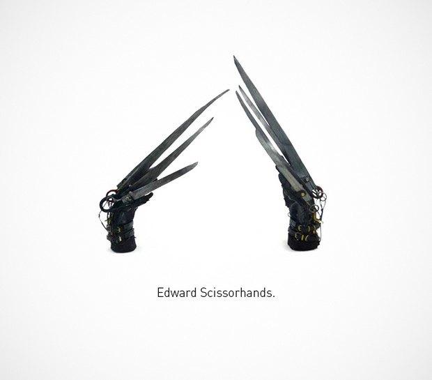 Итальянский дизайнер представил коллекцию ножей знаменитых персонажей. Изображение № 40.