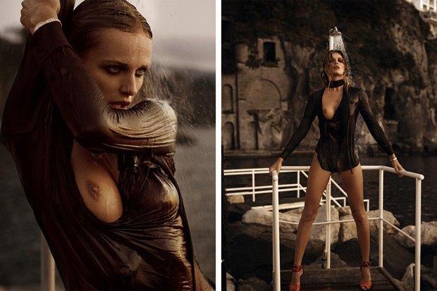 Модель Эдита Вилкевичуте снялась для эротического журнала Lui Magazine. Изображение № 2.