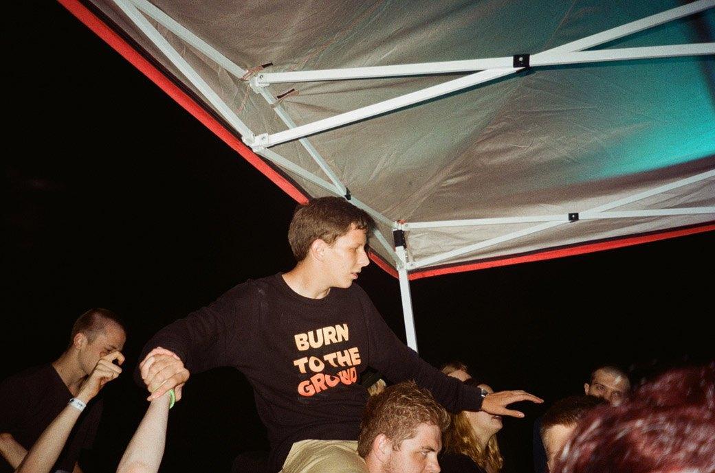 Фотоотчёт: Вечеринка на крыше торгового центра. Изображение № 3.