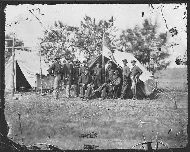 Опубликованы раскрашенные фотографии времен Гражданской войны в США. Изображение № 5.