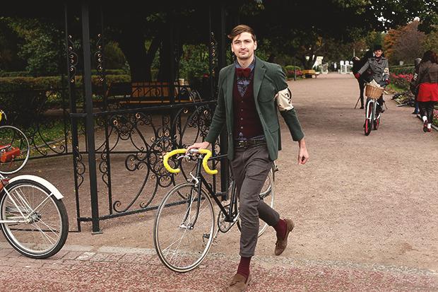 Детали: Репортаж с велозаезда Tweed Ride Moscow. Изображение № 96.