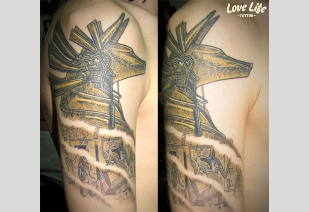 Избранные работы студии Love Life Tattoo. Изображение № 15.