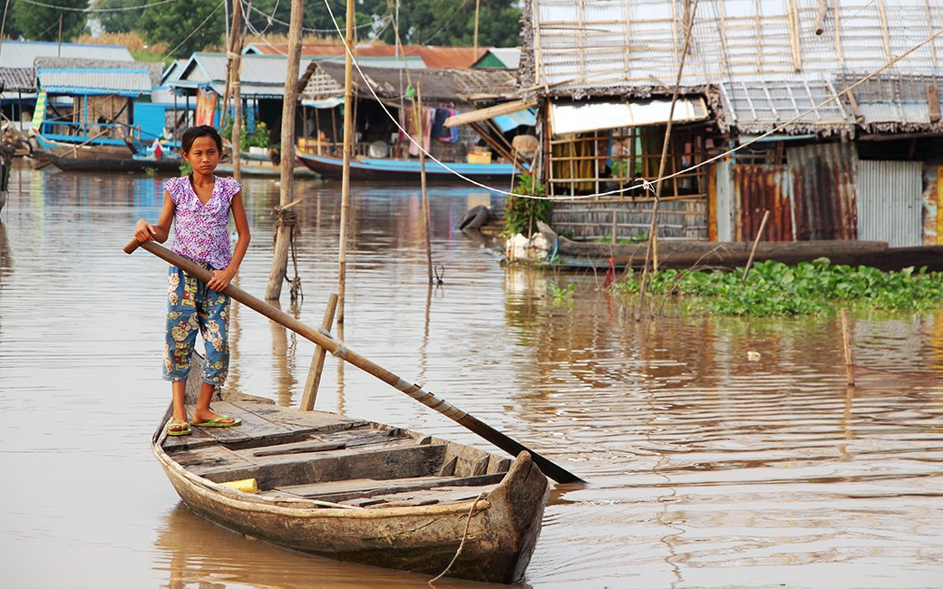 Две девушки и один мотоцикл: Путешествие по Камбодже. Изображение № 16.