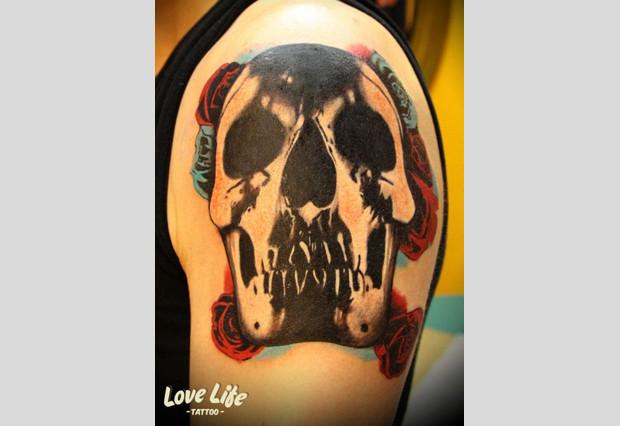 Избранные работы студии Love Life Tattoo. Изображение № 14.