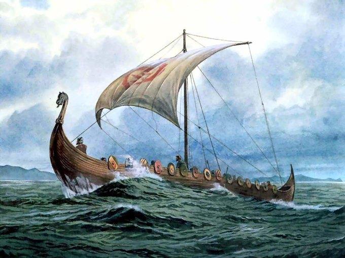 Норвежский Музей кораблей викингов будет продавать копии драккаров. Изображение № 1.