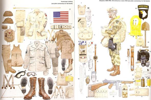 Форма американских парашютистов 1942 и 1944 годов. Источник: bennosfigures.com. Изображение №7.