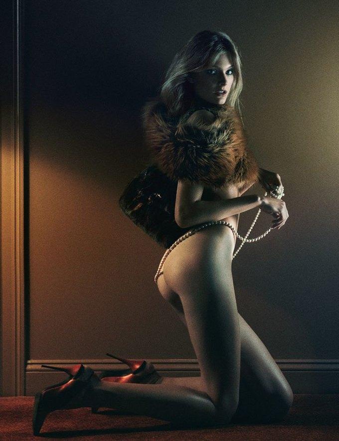 «Ангелы» Victoria's Secret снялись обнажёнными для журнала Interview. Изображение № 3.