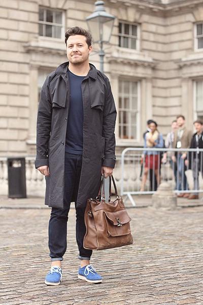 Уличный стиль на неделе моды в Лондоне. Изображение № 7.