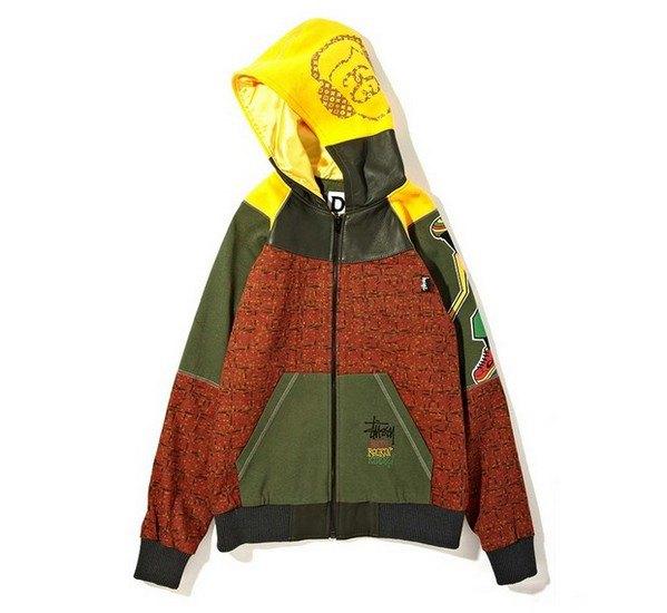 Марка Stussy и дизайнер Даррен Романелли представили совместную коллекцию одежды. Изображение № 1.
